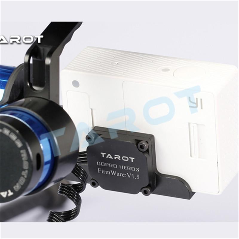 Tarot TL68A15 support de caméra à cardan sans balai 2 axes avec Gyroscope ZYX22 pour caméra de sport MIUI Xiaomi Yi - 4