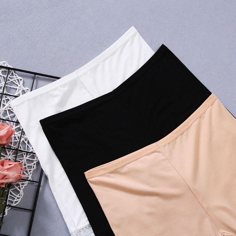 blanco Legging Muslo Evitar Seguridad Skin Elástico Rozaduras negro Pantalones Cortos Pierna Encaje De Caliente n8YxqwF0O8
