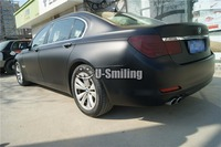 High Quality Matte Black Vinyl Car Wrap Car Body Film Wrapping Sticker Air Bubble Free For Vehicle Styling