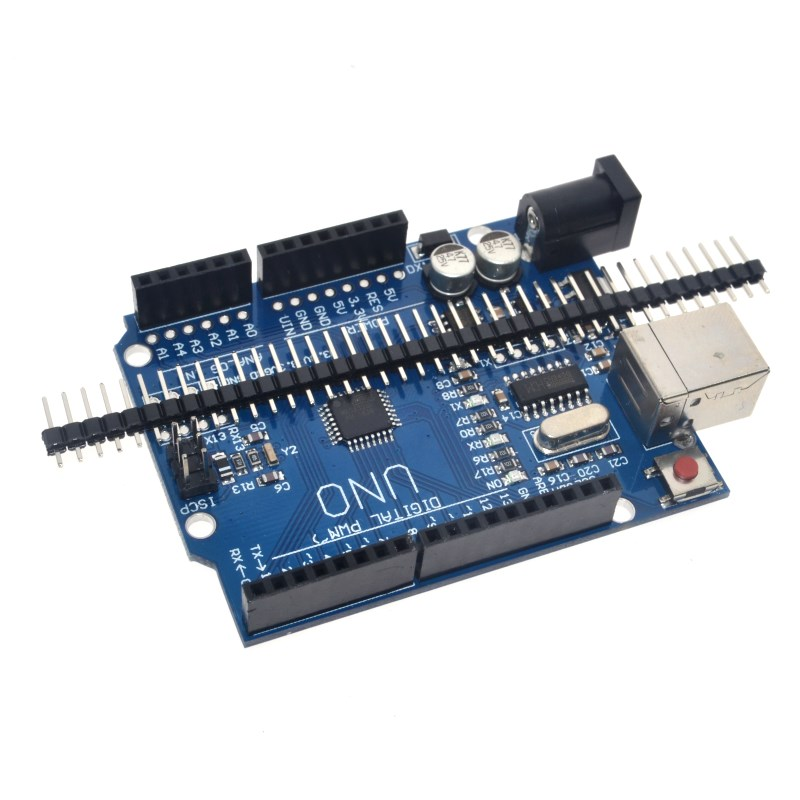 high quality One set UNO R3 (CH340G) MEGA328P for Arduino UNO R3 + USB CABLE ATMEGA328P-AU Development board 6