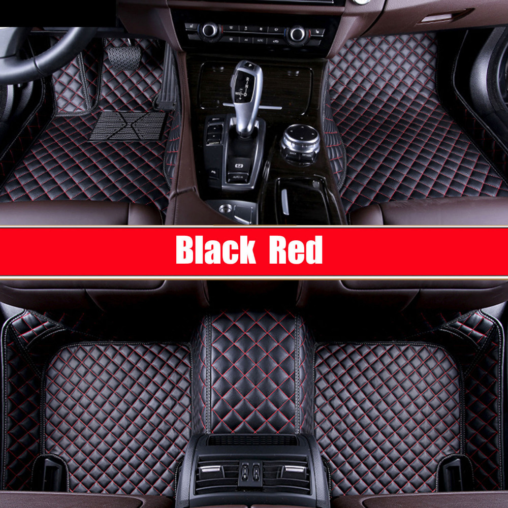 Автомобильные коврики для Porsche Cayenne SUV 911 Cayman Panamera кожаные Нескользящие автомобильные-Стайлинг ковровое покрытие