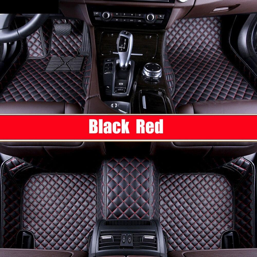 font b Car b font floor mats for Porsche Cayenne SUV 911 Cayman Panamera leather