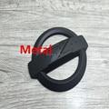 3D High  Quality Black Hollow Z Logo Metal Badge Emblem Sticker Car Body Side Stripe For Nissan MICRA Juke Qashqai 187