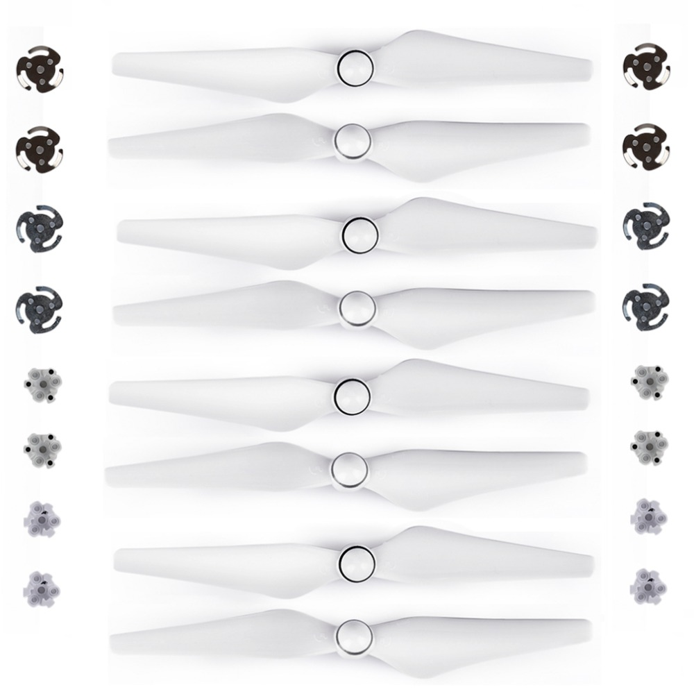 8pcs 9450S Propeller For DJI Phantom 4 PRO Advanced Drone Quick Release Props Blade  Wing Fans Spare Parts Replacement Accessory