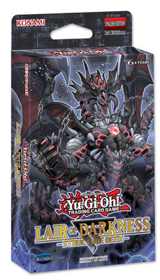 Yu Gi Oh Trading Game Cards Legendary Dragon Decks English Cards Anime Yugioh Lair of Darkness SR06 image