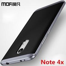 Xiaomi Redmi Note 4 X случай 3 г 32 г Xiaomi Redmi Note 4 Глобальный Версия задняя крышка силиконовый Mofi Redmi Note 4 x случаях и охватывает