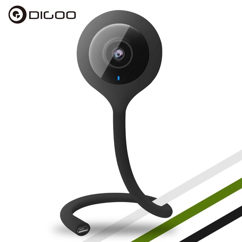 Digoo DG-QB01 Mini Flexible 720P IP Camera 2.1mm Lens Wireless WIFI Night Vision Two-Way Talking Smart Home Baby Monitor dg home 21 см baby bird dg d 811b