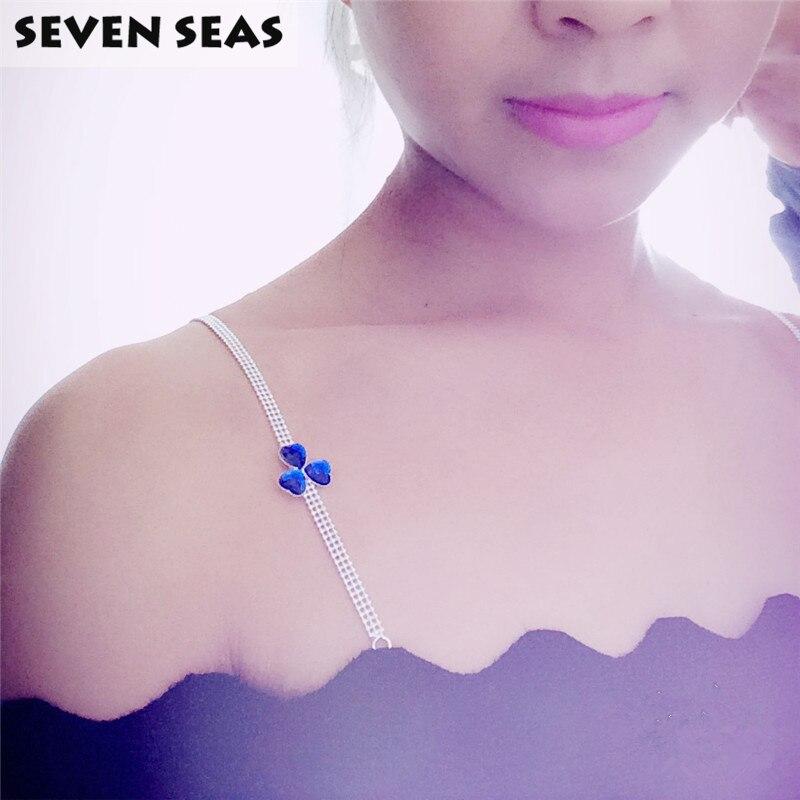 Women Intimate Bra Accessories Decorative Shoulder Rhinestone Bra Straps Jewelry Replacement Underwear Belt
