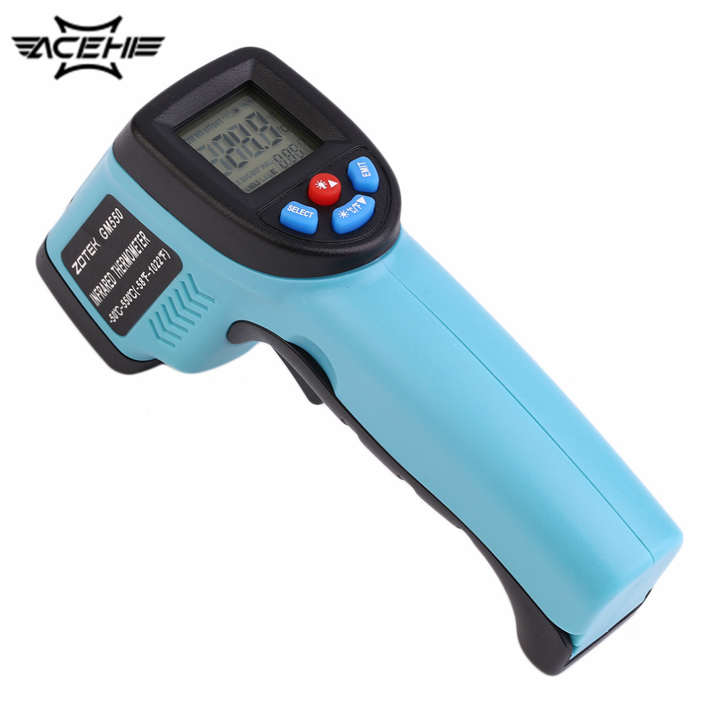 2017 GM550 Digital Infrared Thermometer Industrials