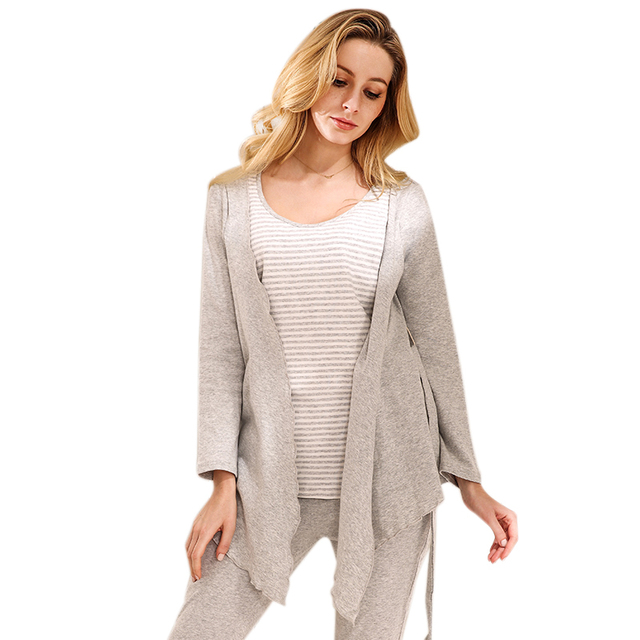 b32330a752 Sally Nice Maternity Lactation Pregnancy Clothes Sleepwear Breastfeeding  Nursing Pajamas Pregnant Women Comfy Loose