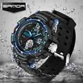 2017 SANDA Fashion Men Watch G Style Waterproof LED Military Sports Watch Shock Men's Analog Quartz Digital Watch Masculino 289