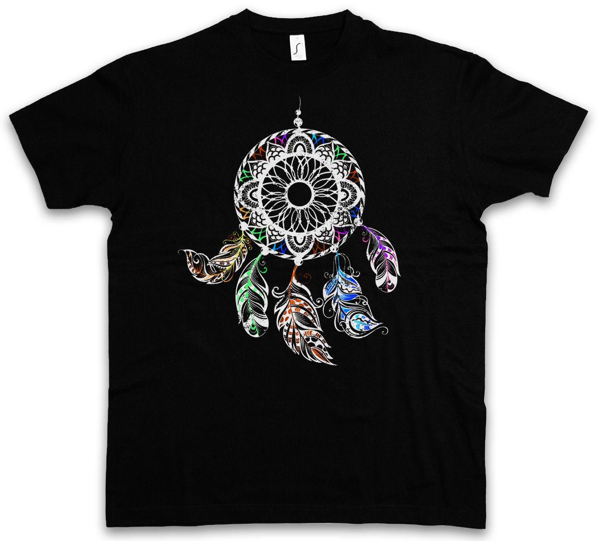 DREAMCATCHER II T-SHIRT - Apache dream catcher asabikeshiinh Native