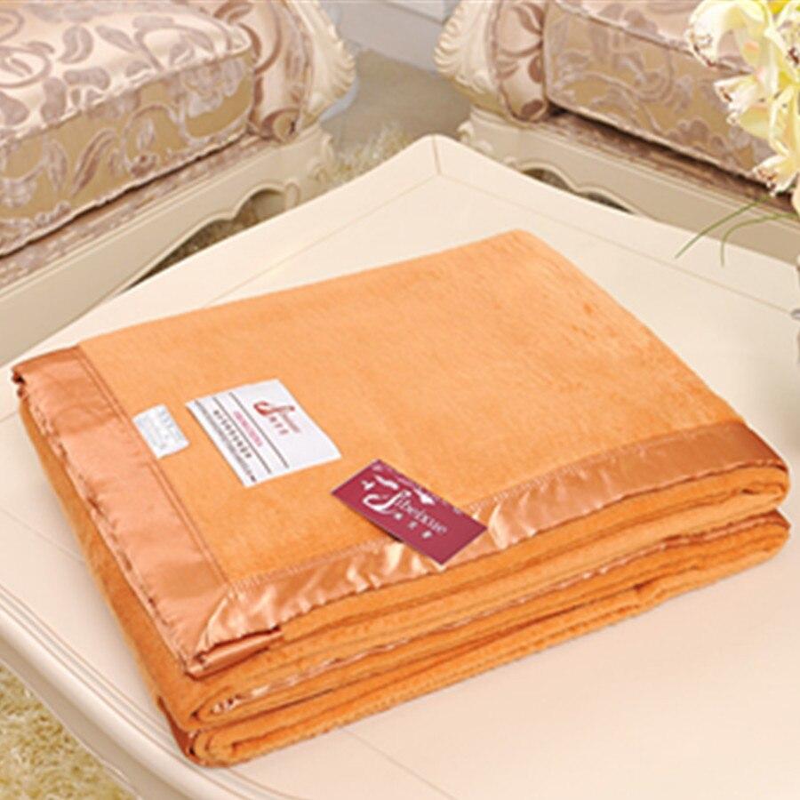 Шелковое Одеяло текстурированное мягкое для дивана уютная накидка на мебель 200 см x 230 см - 3
