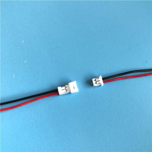 2 Paire de 4 broches micro JST Connecteurs