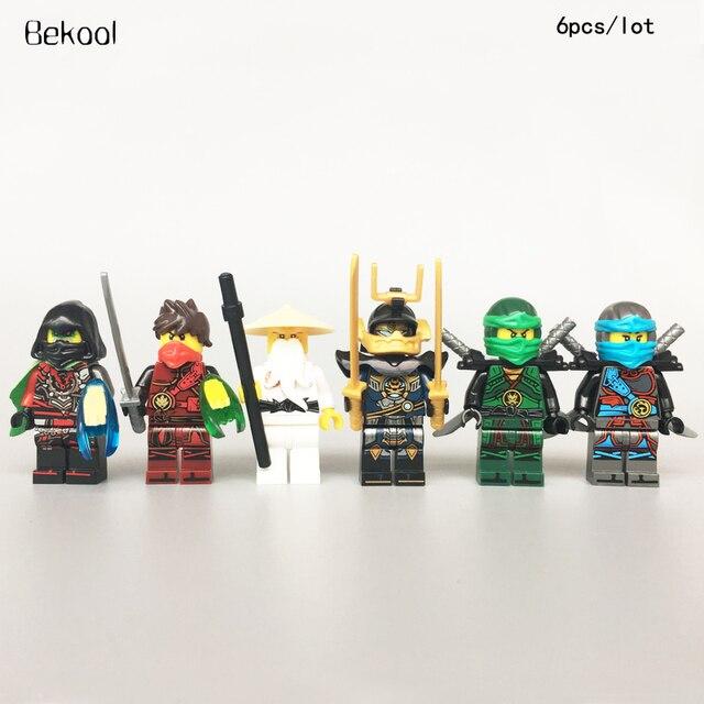 Buy 6pcs lot ninjagoes time twins krux - Ninjago nouvelle saison ...