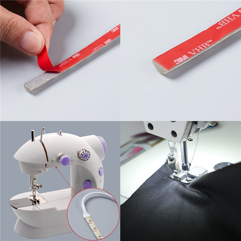 Sewing Machine LED Light Strip Light Kit 11.8 inches DC 5V Flexible USB Sewing Light 30 cm Industrial Machine Working LED Lights