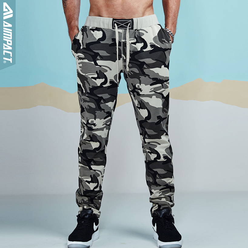 Aimpact Camouflage Jogger Pants For Men Cotton Sweatpant Male Tracksuit Casual Workout Fitness Pants Man Sporty Running Trousers