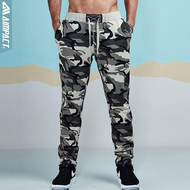 a9e897c189 Aimpact Camouflage Jogger Pants for Men Cotton Sweatpant Male Tracksuit  Casual Workout Fitness Pants Man Sporty