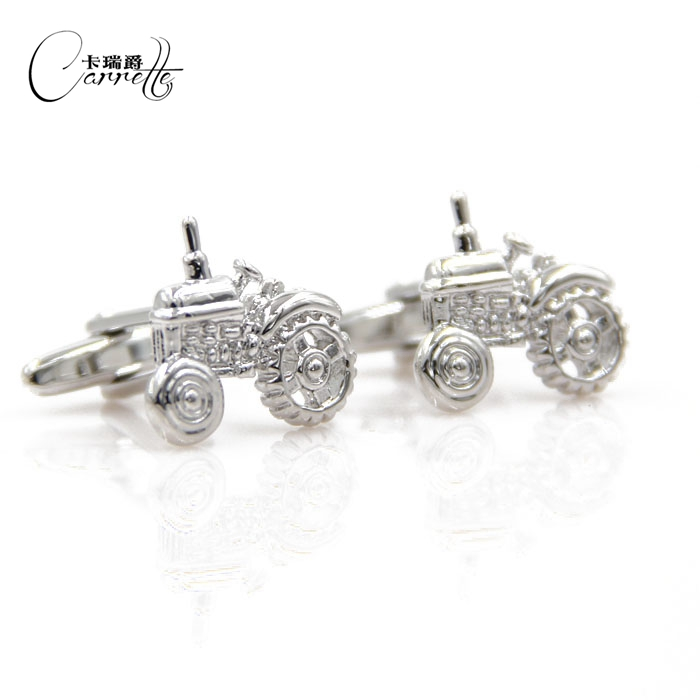 Silver personalized car styling fun cufflinks Cufflinks Mens French shirt cufflinks