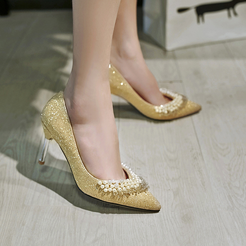 Online Get Cheap Gold Glitter Heels -Aliexpress.com | Alibaba Group