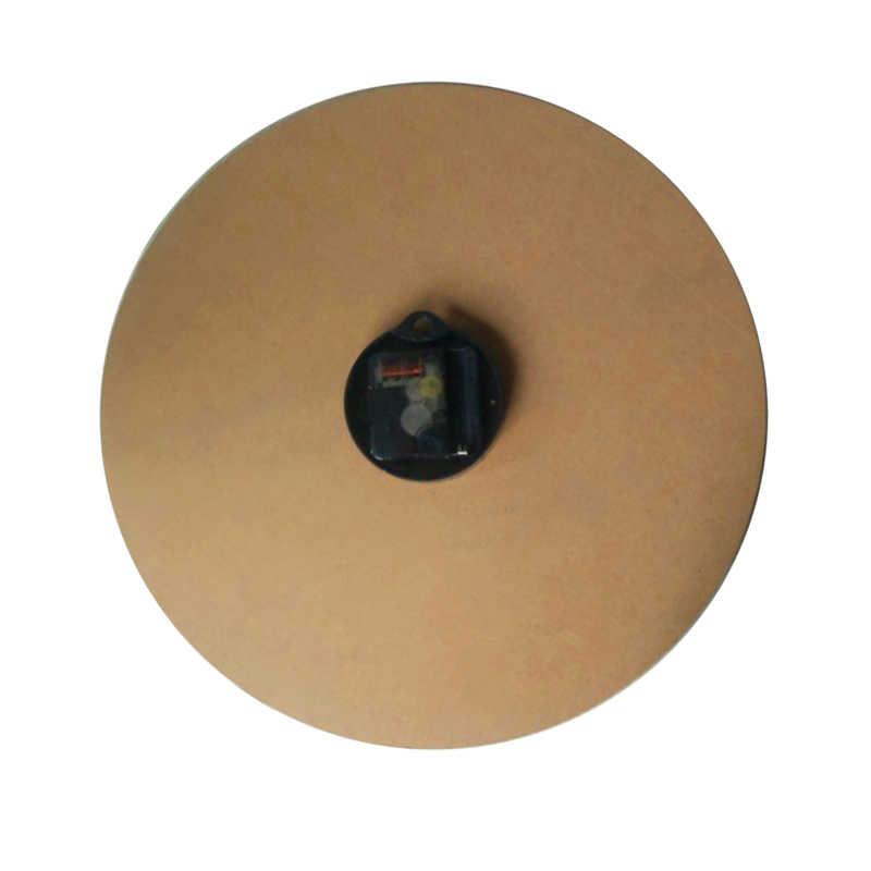 Популярный бамбуковый Деревянный настенные часы Наклейка для гостиной кварцевые часы современный натюрморт домашний Декор одно лицо абстрактные часы