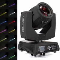 Ship From USA 230w Beam Moving Head Strobe Light Zoom DMX Stage 16Ch 14Colors Spot