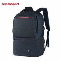 AspenSport Waterproof Nylon School Bags 17 Inch Laptop Backpack Men S Travel Bags Backpacks Capacity Backpack