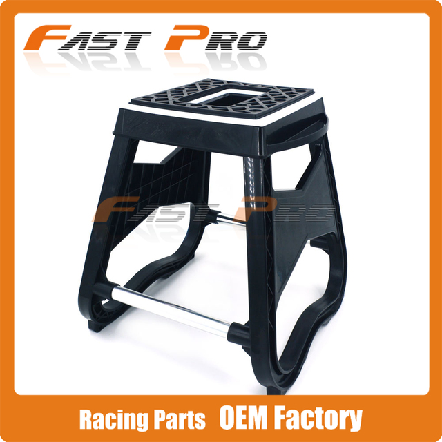 plastic mx motorcycle stand stool repairing lift repair holder for ktm crf yz yzf wrf kx klx kxf. Black Bedroom Furniture Sets. Home Design Ideas