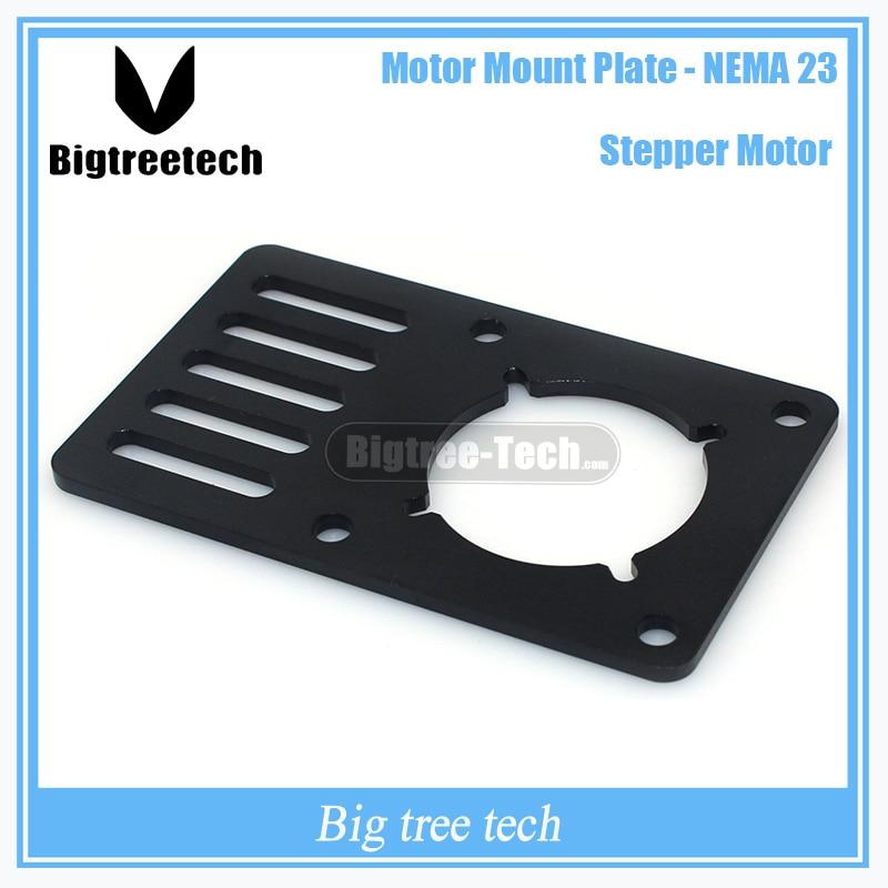 3D Printer part Motor Mount Plate for NEMA23 for Openbuilds V-Slot 90*60*3mm for CNC&Kossel 3D0270 1pcs openbuilds motor mount plate for nema 17 82 39 5 3mm aluminum alloy cnc special fixing plate for 3d printer