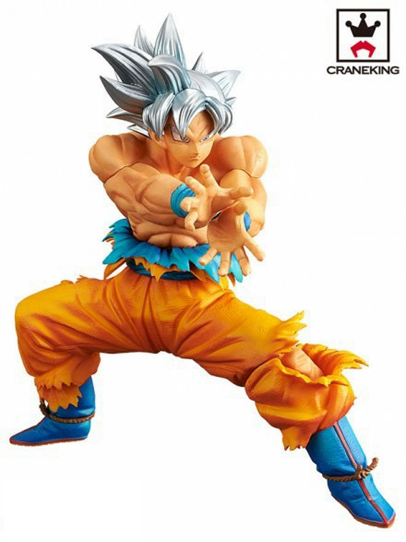 Toys & Hobbies Genteel Banpresto Dragon Ball Z Dbz Dxf The Super Warriors Goku Ui Ultra Instinct Pvc Figure Juguetes Brinquedos Dolls Toys