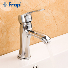 Frap New Basin Faucet Tap Mixer Chrome Bathroom Brass Basin Sink Mixer Tap Deck Mounted Bathroom Waterfall Faucets Y10176 стоимость