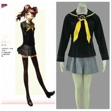 Persona4 Anime School Mujer Cosplay Traje de Halloween