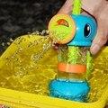2016 Новый Смешные Детские Игрушки Воды Гиппокамп Стиль Игрушки Для Ванной бассейн Распыления Инструмент Для Детей Ванная Комната Игры Дети Душ Воды игрушки
