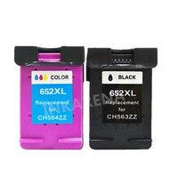 For HP 652 HP652 XL Ink Cartridge Black Color For HP DeskJet 1115 2135 3635 3775