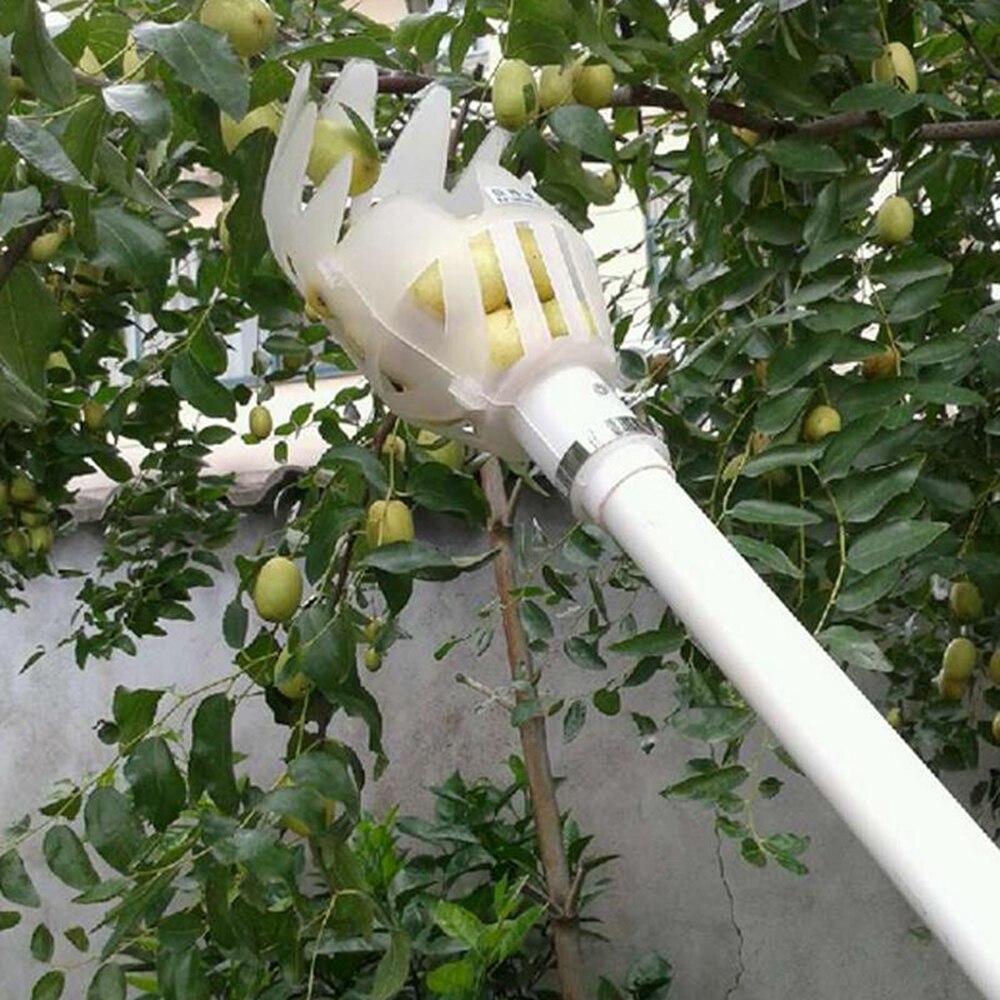 Ferramentas de jardim picker frutas jardinagem coleção picareta cabeça ferramenta dispositivo apanhador frutas estufa picker