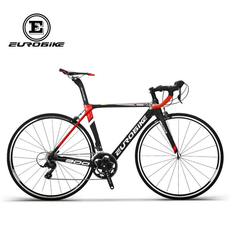 EUROBIKE 50CM Carbon Frame   700C Racing BicycleEurobike 18 Speed Road Bike