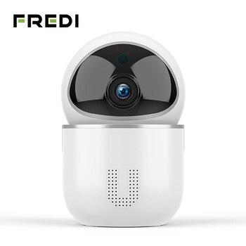 FREDI 1080P Cloud IP Camera Intelligent Auto Tracking Surveillance Camera Home Security Wireless WiFi CCTV Camera With Net Port