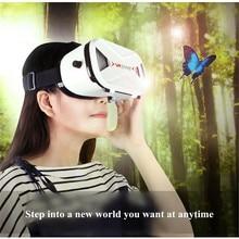 VR Óculos VR Fone de Ouvido E Controlador Virtual Visor 3D Movie Game assistir Visualizador de Óculos de Realidade Virtual para o iphone 8 7 Todos Os Telefones