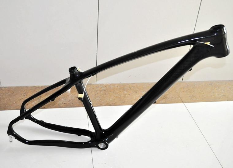 MF-005 Full Carbon Fiber Mountain Bike Frame 26 / 27.5 / 29ER  Tapered Tube Disc Brake MTB Bicycle  Frame
