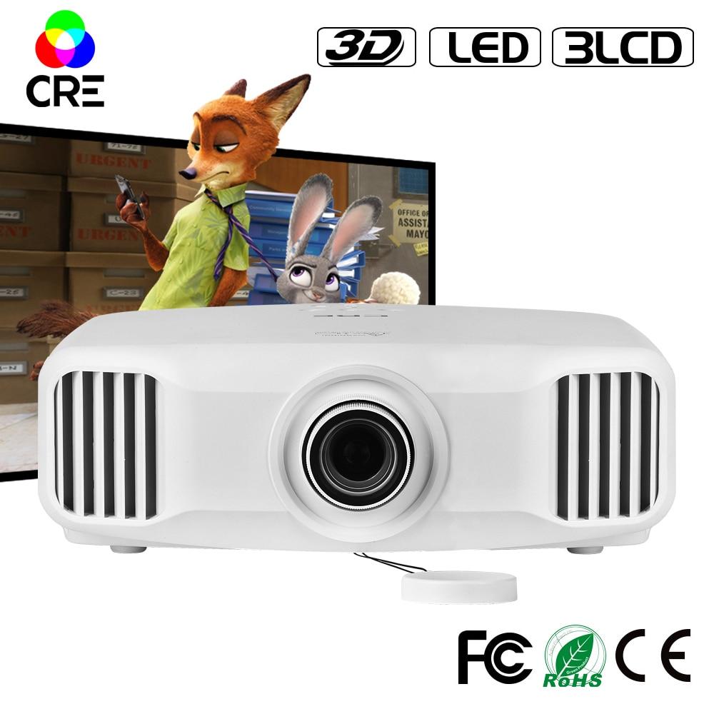 1920*1200 FULL HD 1080P high definition 2K support <font><b>4k</b></font> 3LCD wifi 3d <font><b>projector</b></font> with 3300lumens