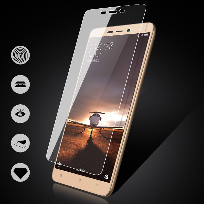 Cover Tempered Glass For Xiaomi Redmi Note 4X 32 GB Note 4X 64GB Case Redmi 3 3S 4A 4 4X 4Pro Screen Protector Toughened Film