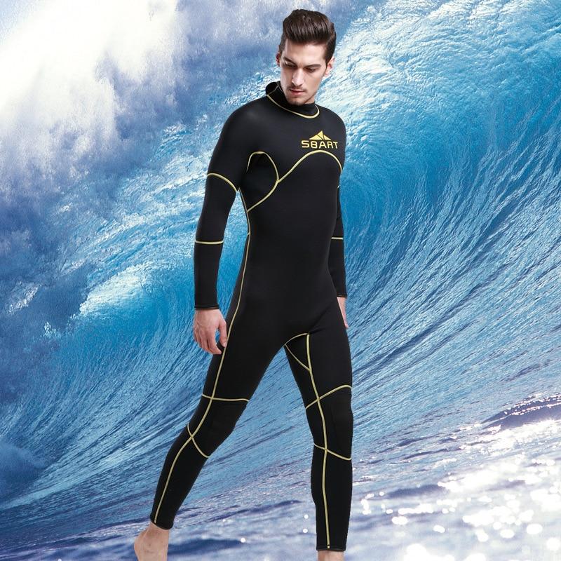 Wetsuits Men's Premium Neoprene 3mm Neoprene Full Body ...
