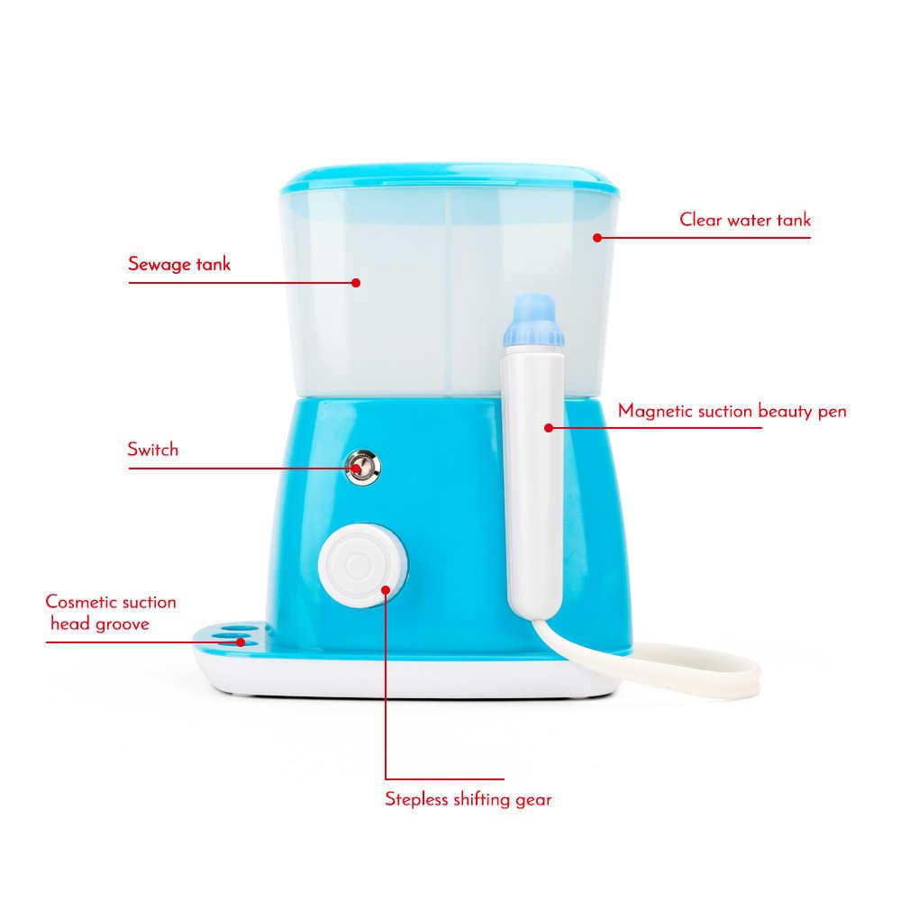 Dispositivo de eliminación de burbujas pequeñas de espinillas al vacío limpiador de espinillas microburbujas para el cuidado de la piel