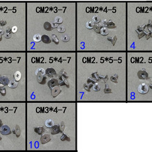 WZSM Laptop Big Head Screws Set For Dell for HP for Asus for