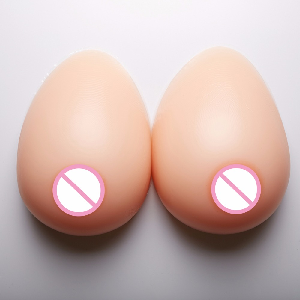 1400g/pair Mastectomy Artificial Silicone Fake boobs For Crossdressers And Transvestites Silicone Breast Forms 38DD/40D/36E 3XL 4600 g pair h hh silicone breast forms mastectomy artificial silicone fake breast for crossdressers and transvestites