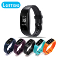 2016 New S1 Wristband Smart Band Bluetooth Waterproof Smart Bracelet Fitness Tracker Dynamic Heart Rate Monitor for Android iOS