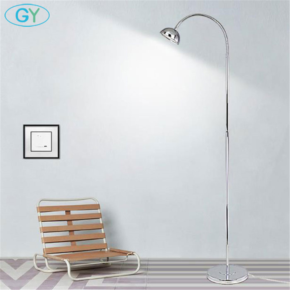 Modern Minimalist LED Floor Lamp 8W 12W led Standing Lamps for Living room Reading Lighting Loft Iron Floor Lamp fixture цены