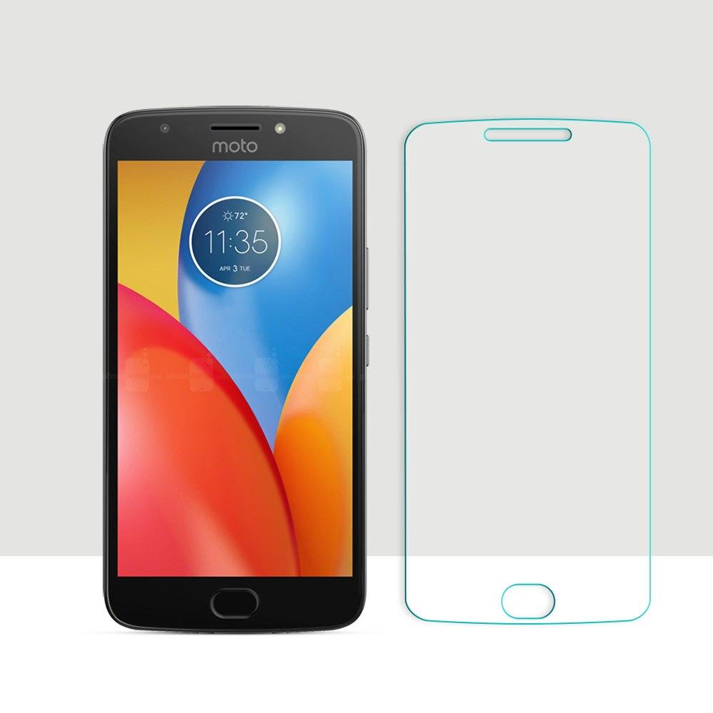 Screen Protector For Motorola Moto E4 Plus E Plus Tempered Glass For Moto E4 Plus 2.5D Curved Edge Protective Film Full Coverage