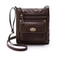 Frauen messenger bags umhängetaschen für frauen bolsas femininas 2017 frauen leder umhängetasche weibliche vintage satchel 6 farben