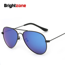 Новые Детские Очки металла фонда поляризованный свет Солнцезащитные очки для женщин двойной Цвет выбор Солнцезащитные очки для женщин Óculos De Sol Gafas